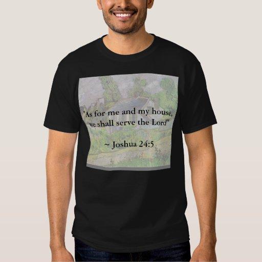 Joshua 24:15 Van Gogh House Shirt