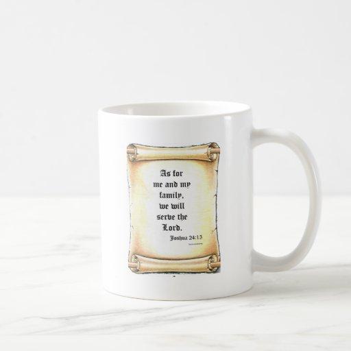Joshua 24 taza de café