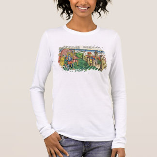 Joshua 6 4-21 The Fall of Jericho, from the 'Nurem Long Sleeve T-Shirt