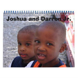 Joshua and Darren Jr. 2007 Calendar