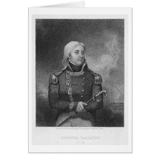 Joshua Barney (1759-1818), engraved by J. Gross af Card