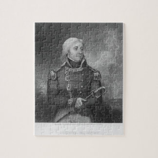 Joshua Barney (1759-1818), engraved by J. Gross af Jigsaw Puzzle