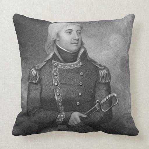 Joshua Barney (1759-1818), grabado por J. Gross af Almohadas