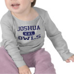 Joshua - búhos - High School secundaria de Joshua Camisetas
