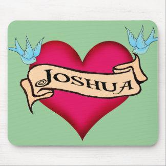 Joshua - camisetas y regalos de encargo del tatuaj alfombrilla de ratones