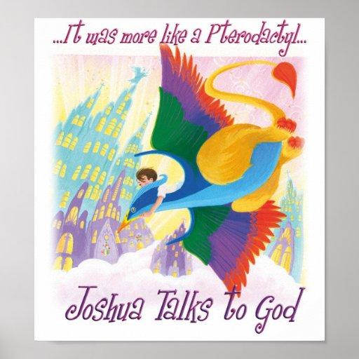 Joshua habla con dios - Pterodactyl Póster