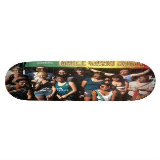 Joshua Jelley and Dance Gavin Dance 7/1/11 Skateboard Deck