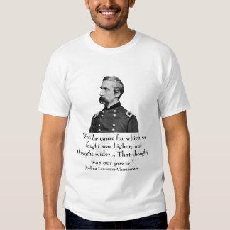 Joshua Lawrence Chamberlain and quote Shirt