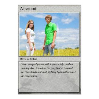Joshua & Olivia Trading Card