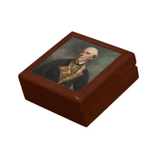 Joshua Reynolds- Admiral the Honourable Samue Jewelry Boxes