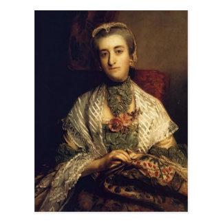 Joshua Reynolds- Caroline, Lady Holland Post Card