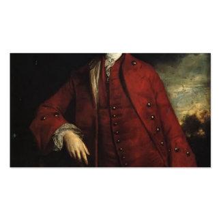 Joshua Reynolds- Charles Lennox, 3rd Duke Business Card Templates