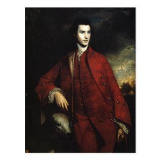 Joshua Reynolds Charles Lennox 3ro duque Tarjeta Postal