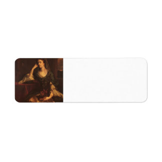 Joshua Reynolds Emily, duquesa de Leinster Etiqueta De Remite
