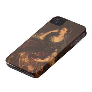 Joshua Reynolds Emily, duquesa de Leinster iPhone 4 Case-Mate Protectores