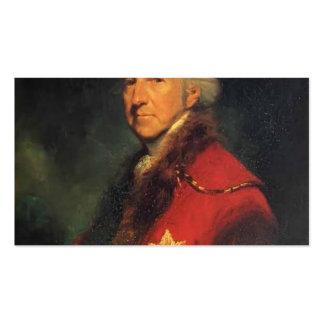 Joshua Reynolds Francisco Seymour Conway Tarjetas Personales