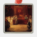 Joshua Reynolds- George III Christmas Tree Ornaments