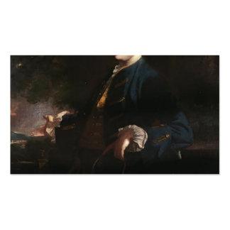 Joshua Reynolds-James FitzGerald, Duke of Leinster Business Card Template