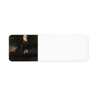 Joshua Reynolds-James FitzGerald, Duke of Leinster Return Address Label