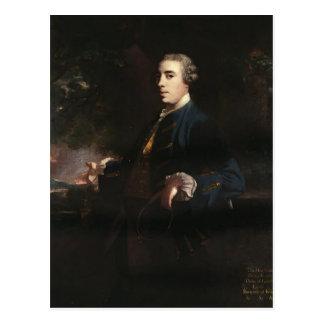 Joshua Reynolds-James FitzGerald duque de Leinste Tarjeta Postal