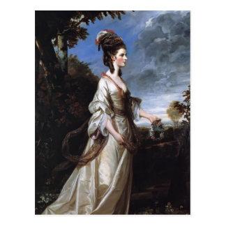 Joshua Reynolds Jane, condesa de Harrington Tarjetas Postales