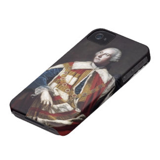 Joshua Reynolds- John Russel, 4th Duke of Bedford iPhone 4 Case-Mate Case
