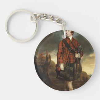 Joshua Reynolds Juan Murray, 4to conde de Dunmore Llavero Redondo Acrílico A Una Cara