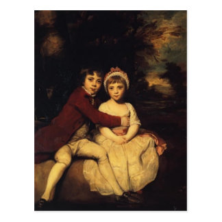 Joshua Reynolds-Juan Parker y su hermana Teresa Postal