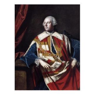 Joshua Reynolds Juan Russel 4to duque de Bedford Tarjeta Postal