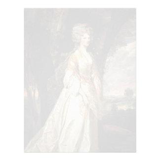 Joshua Reynolds- Lady Sunderlin Personalized Letterhead