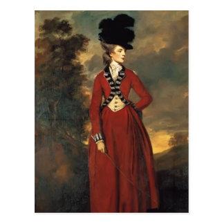Joshua Reynolds- Lady Worsley Post Card