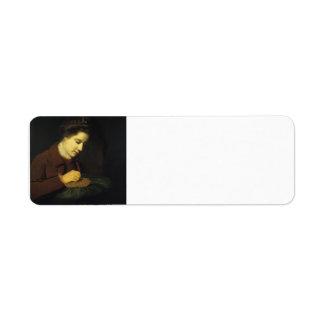Joshua Reynolds Maria, duquesa de Richmond Etiquetas De Remite
