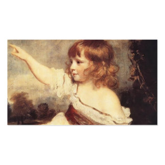 Joshua Reynolds- Master Hare Double-Sided Standard Business Cards (Pack Of 100)