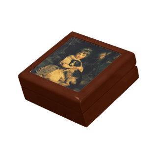 Joshua Reynolds- Miss Bowles Trinket Box