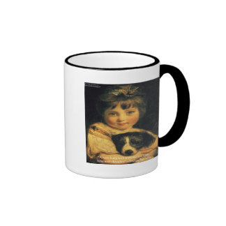 Joshua Reynolds Miss Bowles & Quote Gifts & Cards Ringer Mug