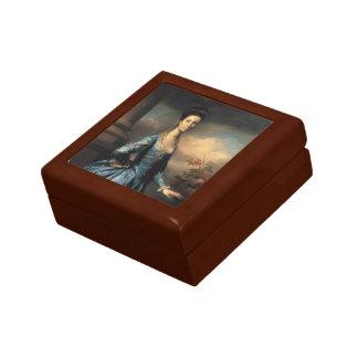 Joshua Reynolds- Miss Elizabeth Ingram Jewelry Boxes