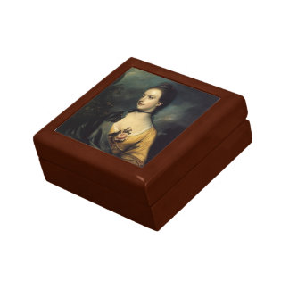 Joshua Reynolds- Miss Isabella Thorold Trinket Box