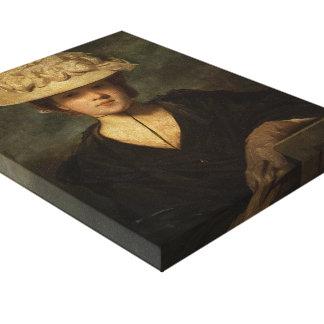Joshua Reynolds- Miss Mary Hickey Gallery Wrap Canvas