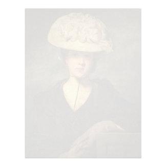 Joshua Reynolds- Miss Mary Hickey Custom Letterhead