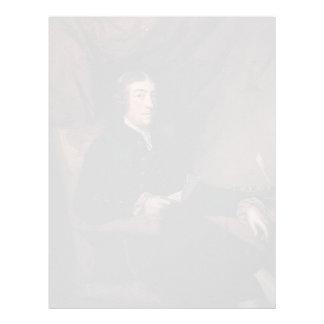 Joshua Reynolds- Mr. James Bourdieu Letterhead Design