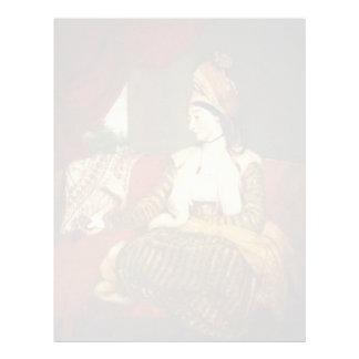 Joshua Reynolds- Mrs Baldwin Personalized Letterhead