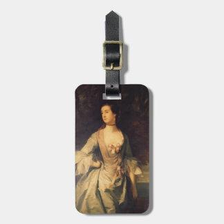 Joshua Reynolds- Mrs. Hugh Bonfoy Travel Bag Tag