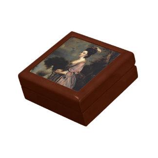 Joshua Reynolds- Mrs. Richard Crofts Trinket Box