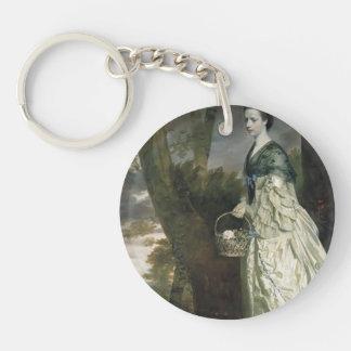 Joshua Reynolds- Mrs. Thomas Riddell Acrylic Keychain