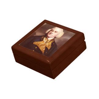 Joshua Reynolds - Portrait of Admiral Thomas Cotes Jewelry Box