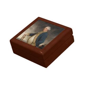 Joshua Reynolds- Portrait of Augustus Keppel Trinket Boxes