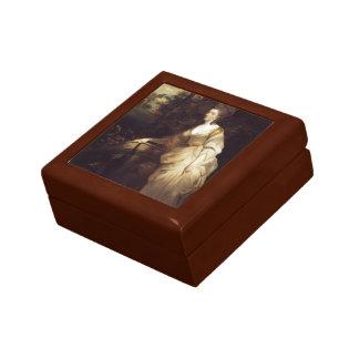 Joshua Reynolds- Portrait of Georgiana Trinket Box