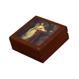 Joshua Reynolds- Portrait of Mrs. Abington Keepsake Box