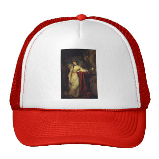 Joshua Reynolds- Portrait of Mrs. Abington Trucker Hat