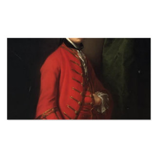 Joshua Reynolds- Portrait of Robert Shafto Double-Sided Standard Business Cards (Pack Of 100)